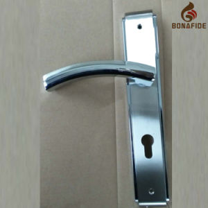 High Quality Full Zinc Door Lock Handle-043 pictures & photos