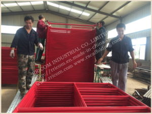 High Quality Mason Frame Scaffolding Powder Coated Red pictures & photos