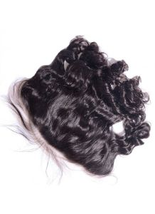 Virgin Human Hair 13X6 Loose Wave Lace Frontal with Natural Hairline pictures & photos
