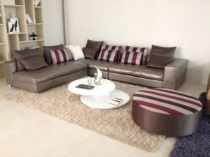 2014 Modern Leather Sofa, Leather Sofa, Sofa