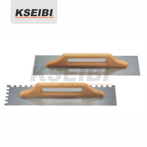 Kseibi - Two-Handed Plastering Trowels with Wooden Handle pictures & photos