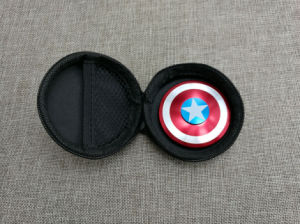 Creative Captain America Shield Hand Spinner Iron Man Fidget Alloy Puzzle Fidget Spinner EDC Autism Adhd pictures & photos
