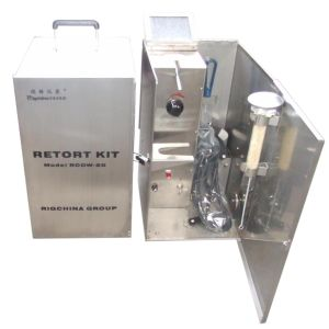 Oil and Water Retort Kit 50ml, External Heating pictures & photos