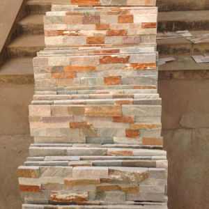 China Natural Stacked Stone Wall Cladding (SMC-SCP387) pictures & photos