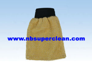 Microfiber Car Wash Mitt (CN1371) pictures & photos