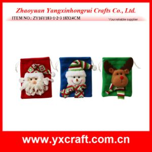 Christmas Decoration (ZY16Y183-1-2-3 18X14CM) Christmas Drawstring Functional Bag Kitchen Item pictures & photos
