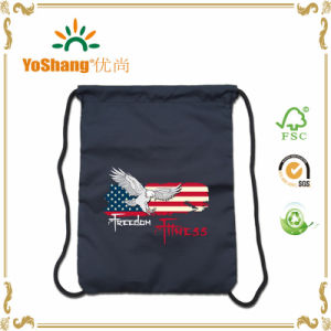 New Design Polyester Drawstring Sports Customized Backpacks pictures & photos