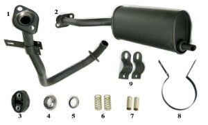 Spare Parts of Tricycle Handle Bar Components (SP-SP-02) pictures & photos