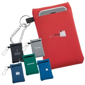 Neoprene Phone Pouch with Carabiner pictures & photos