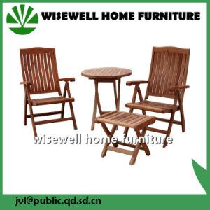 3PC Oak Wood Bistro Furniture Set pictures & photos