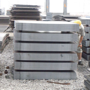 Coated Plain Carbon Hot Rolled Steel Plate (St37-2) pictures & photos