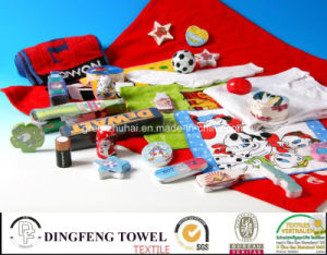 100% Cotton Compressed Printed Bath Towel pictures & photos