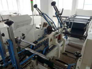 Automatic Prefolding and Bottom Lock Folder Gluer Machine for Carton Box (GDHH-800) pictures & photos