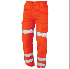 Safety Workwear Work Evening Night Light Reflective Hi-Vis Pants pictures & photos
