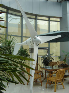 Horizontal 3 Blades 600W Wind Turbine Generator (SHJ-600M-2) pictures & photos