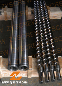 Screw Barrel for PE PP Extruder Extrusion Screw Barrel pictures & photos