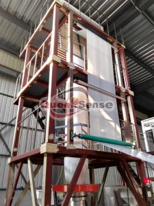Three Layer Plastic Film Blowing Machine New pictures & photos