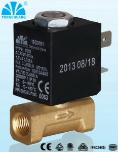 2 Way Direct Acting Ceme Solenoid Valve for Coffee Machine