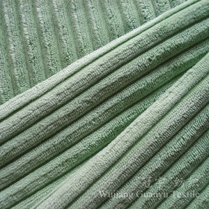 Cutted Pile Polyester and Nylon Corduroy Fabric for Sofa pictures & photos