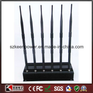 High Power Desktop Cell Phone + GPS + UHF + Lojack Signal Jammer pictures & photos