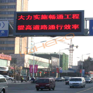 High Brightness Full Color P16 Outdoor Traffic Guidance Display CE Cirtificate pictures & photos