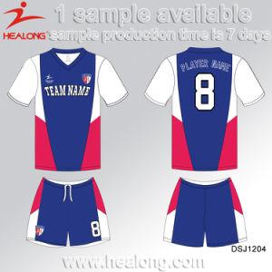 Pop up Digital Printing School Team Girls Soccer Jersey pictures & photos