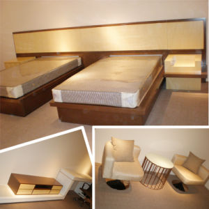 2014 Queensize Luxury Chinese Wooden Restaurant Hotel Bedroom Furniture (GLB-70008) pictures & photos