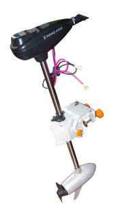 200lbs Brushless DC Outboard Motor with Stepless Speed Controller for Fishing pictures & photos