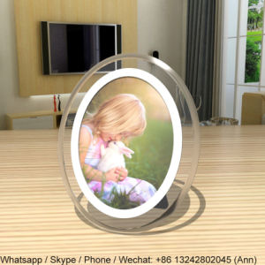 Round Shape Acrylic Photo Frame pictures & photos