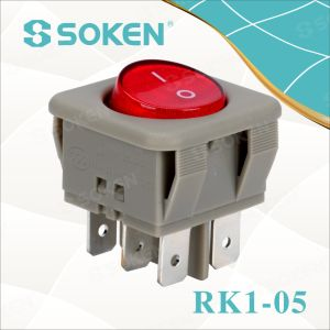 Lighted on off Rocker Switch on-on pictures & photos