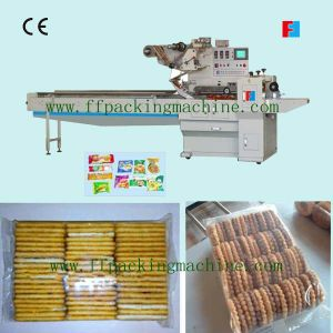 Automatic Biscuit Family Pack on Edge Packing Machine pictures & photos