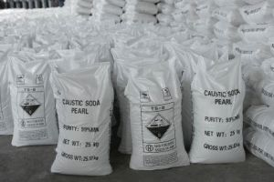 Industrial Grade Price Caustic Soda Pearl Flake, Sodium Hydroxide with Good Quality pictures & photos