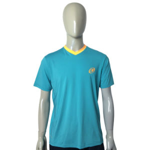 Custom Embroivery Logo Men Short Sleeve T Shirts pictures & photos