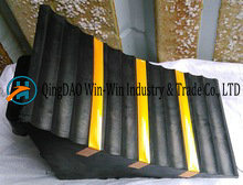 Rubber Wheel Chock 285*160*186 mm with Strip pictures & photos