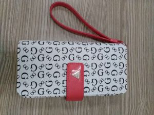 Fashion Print Pattern Leather Hard Feeling Purse