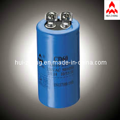 Aluminum Electrlytic Start Capacitor with UL. CE. TUV (HZCD60-001) pictures & photos