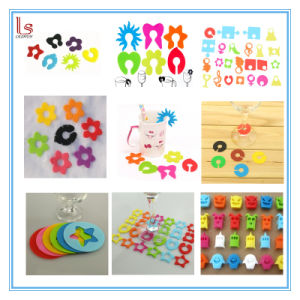 Food Grade Promotion Party Glass Silicone Cup Marker pictures & photos
