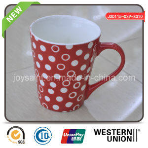 High Quality Customized Ceramic Mug with Silk Print pictures & photos