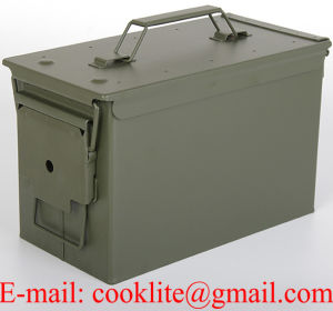 M2a1 50 Cal Metal Ammunition Can Ammo Box pictures & photos