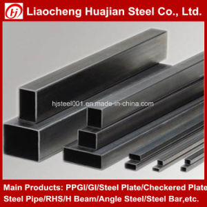 60*120mm Weld Rectangular Pipe for Construction pictures & photos