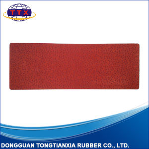 Rubber Backed Flocking Fabric Top Floor Mat pictures & photos