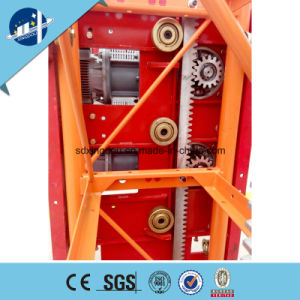 Construction Hoist Lift for Building with MID Speed Double or Single Cage pictures & photos
