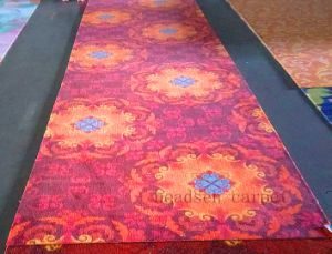 100% Polysetes Printed Carpet with Sponge Sandwich Latex Backing pictures & photos