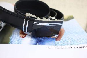 Men Leather Ratchet Belt (A5-140205) pictures & photos