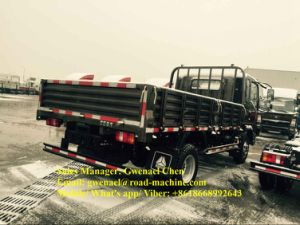 Sinotruk HOWO 4X2 8 Ton Light Duty Cargo Truck with Cummins Engine pictures & photos