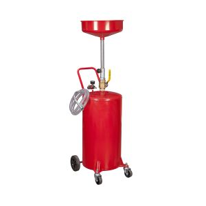 20 Gal. Portable Oil Lift Drain Oil Drain Tank