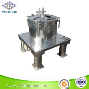 3000r/Min High Speed Top Discharge Flat Sedimentation Centrifuge for Yeast Concentration pictures & photos