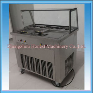 High Quality Pan Fried Ice Cream Machine with Panasonic Compressor pictures & photos
