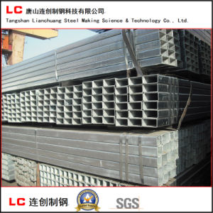Hot Dipped Galvanized Rectangular Steel Pipe for Structure Use pictures & photos