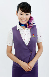 New Style Airlines Uniform for Attendant (ab059) pictures & photos